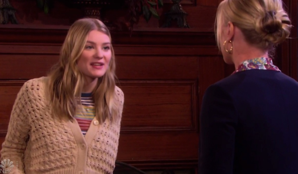 Allie lashes out at Sami on Days of our Lives
