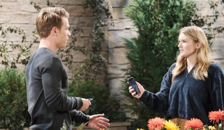 Allie runs into Tripp on Days of our Lives