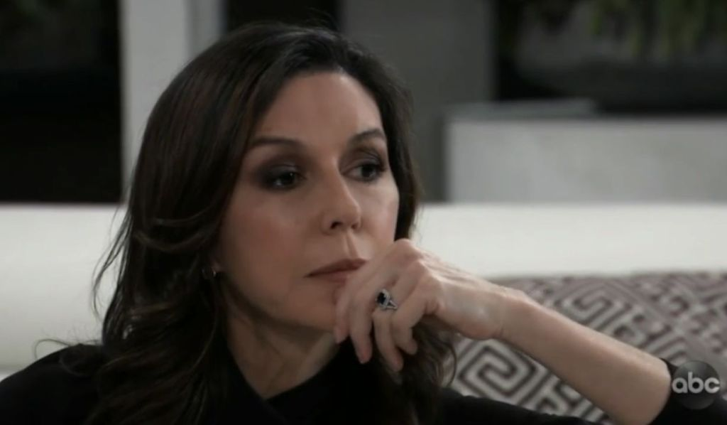 Anna worries about Alex on General Hospital
