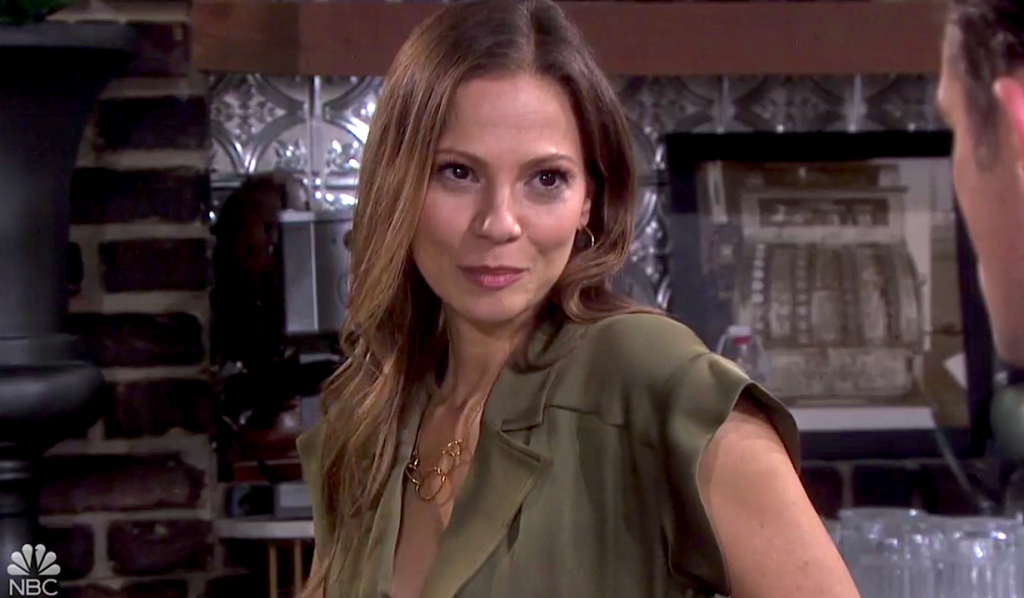 Ava confides in Philip on Days of Our Lives