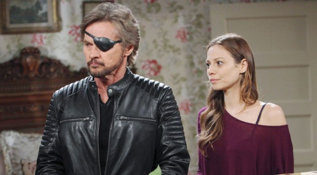 Ava and Steve on Days of our Lives