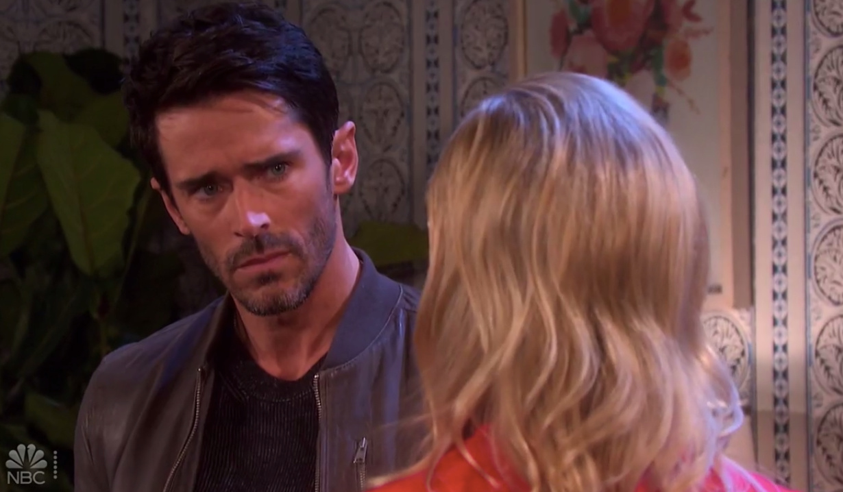 Claire tells Shawn about Jan and Claire on Days of our Lives