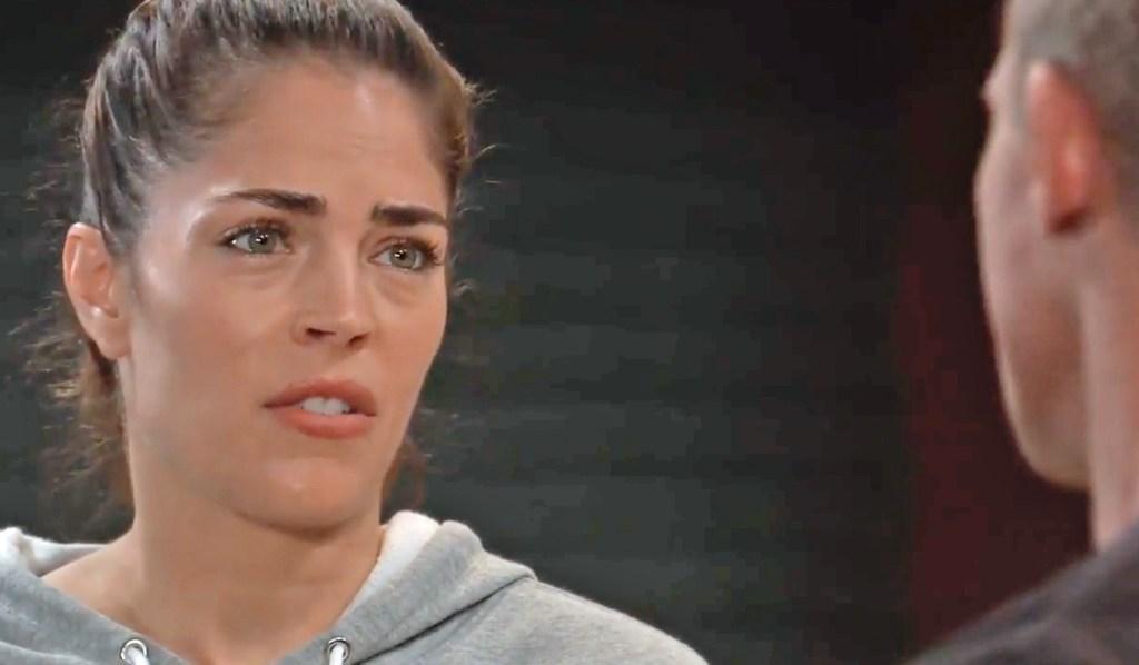 Britt is shocked by Jason GH