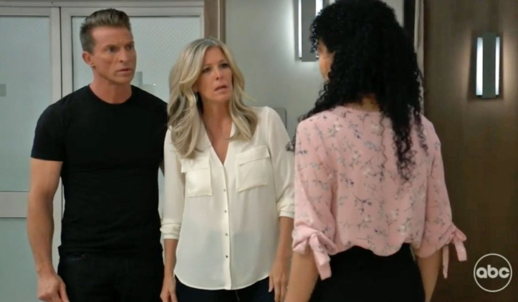Carly and Jason learn about Jordan GH