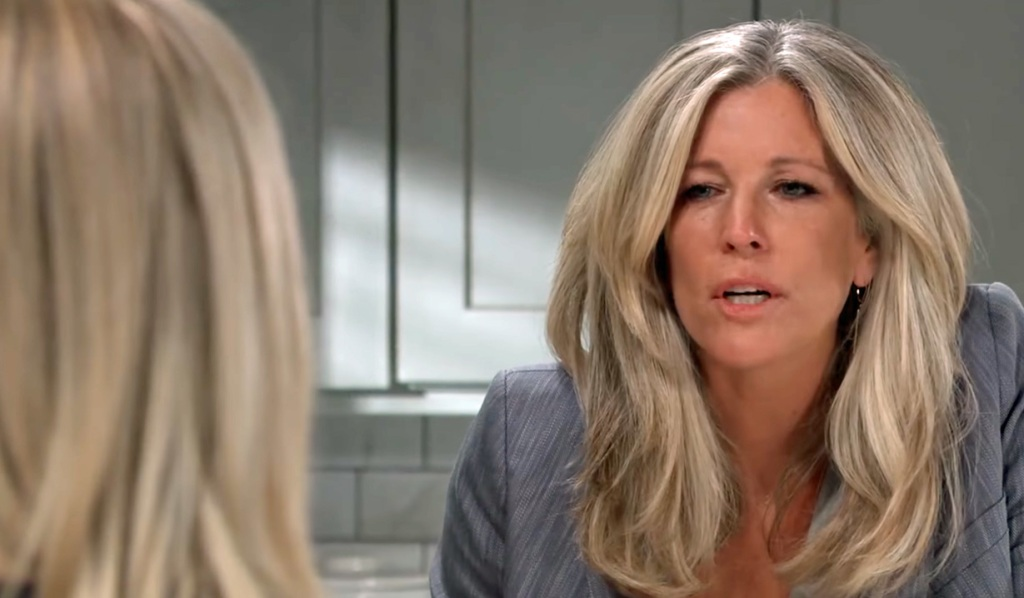 Carly questions how long Nina knew GH