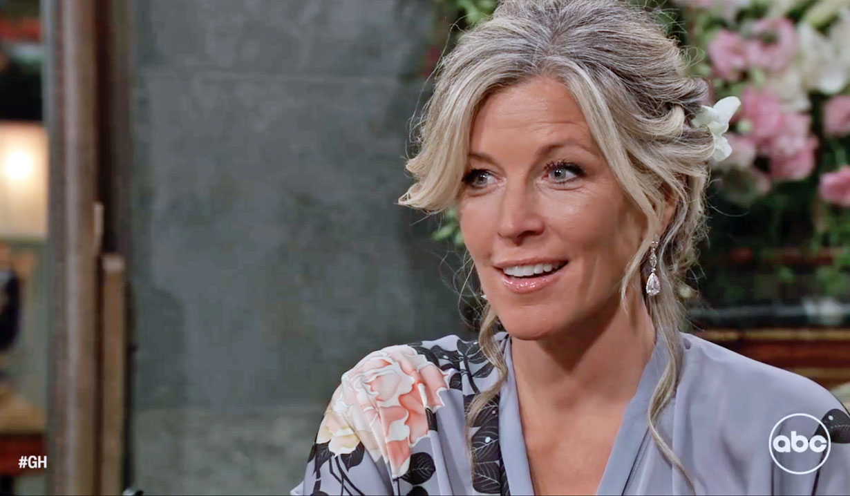 Carly on her wedding day GH ABC