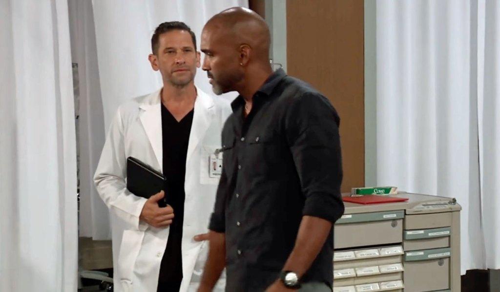 Curtis fears bad news about Jordan GH