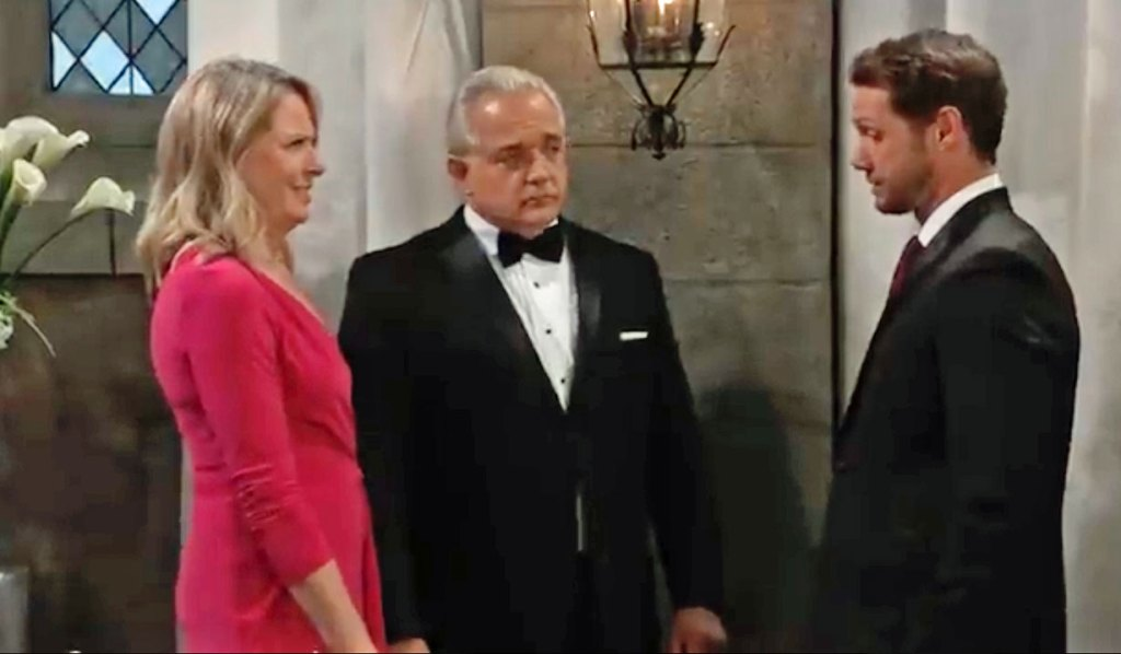 Gladys and Novak attend the wedding GH
