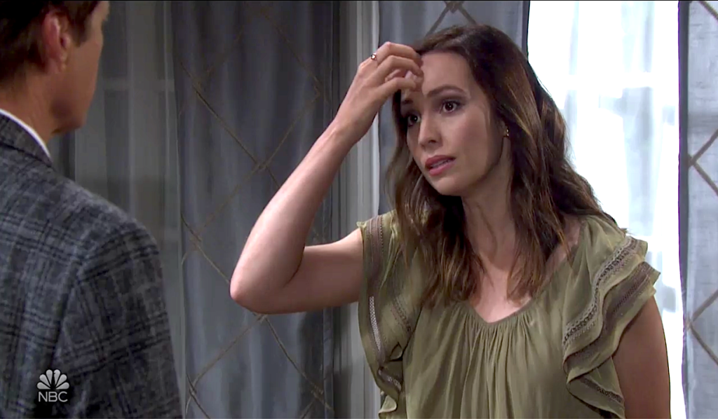 Gwen tries to tell Jack the truth on Days of Our Lives