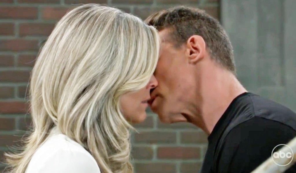 Jason and Carly's kiss GH