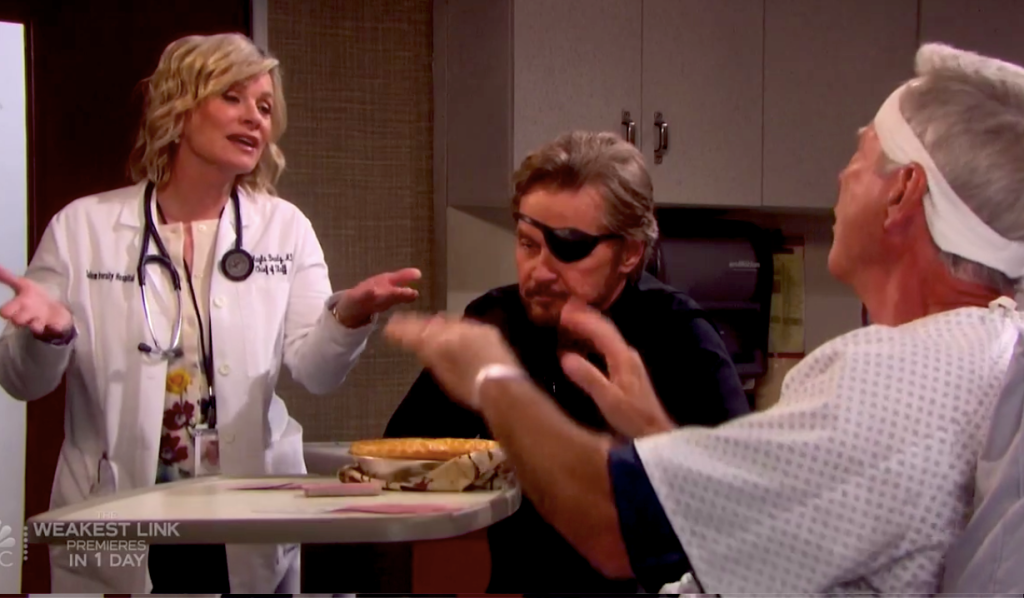 John rejects Kayla's apple pie on Days of our Lives