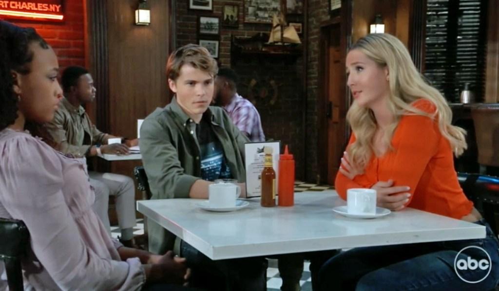 Joss Trina Cam discuss Spencer GH