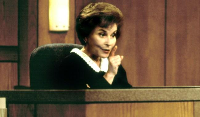 JUDGE JUDY, Judge Judy Sheindlin, 1998. 1996-. (c) Paramount Television/ Courtesy: Everett Collection.