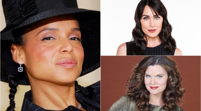 Victoria Rowell, Rena Sofer, Heather Tom love interests on Bold and Beautiful