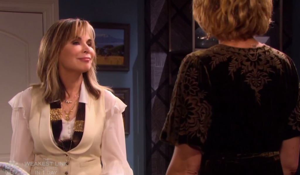 Kate visits Nicole on Days of our Lives