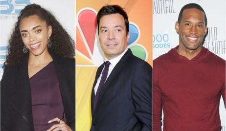 Jimmy Fallon roasts Kiara Barnes, Lawrence Saint-Victor on Bold and Beautiful