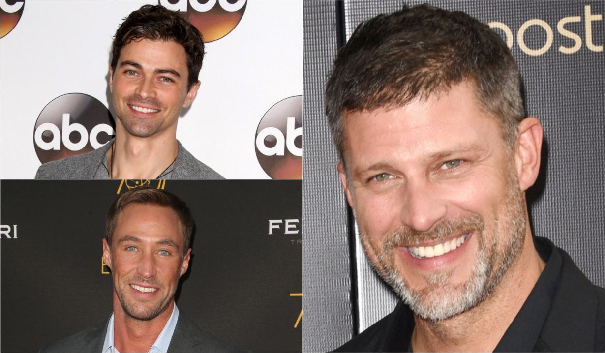 Matt Cohen, Kyle Lowder, Greg Vaughan as Katie's potential love interests on Bold and Beautiful