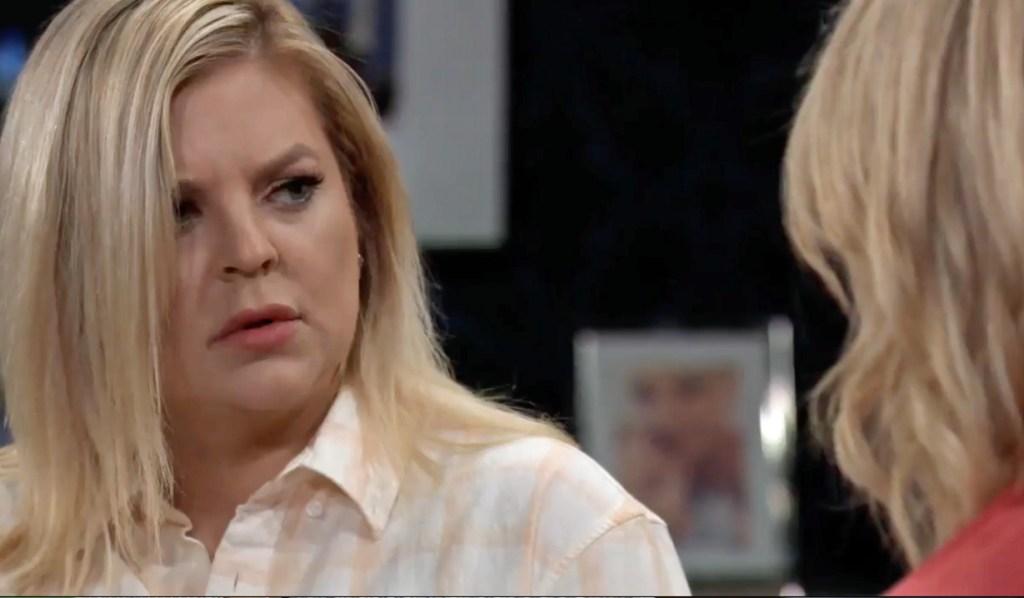 Nina confesses to Maxie GH