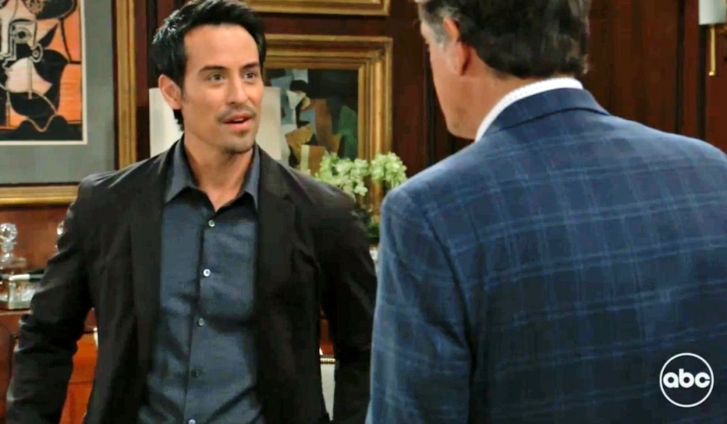 Nikolas and Kevin talk love life GH