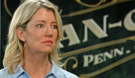 Nina is stunned by Peter's return GH