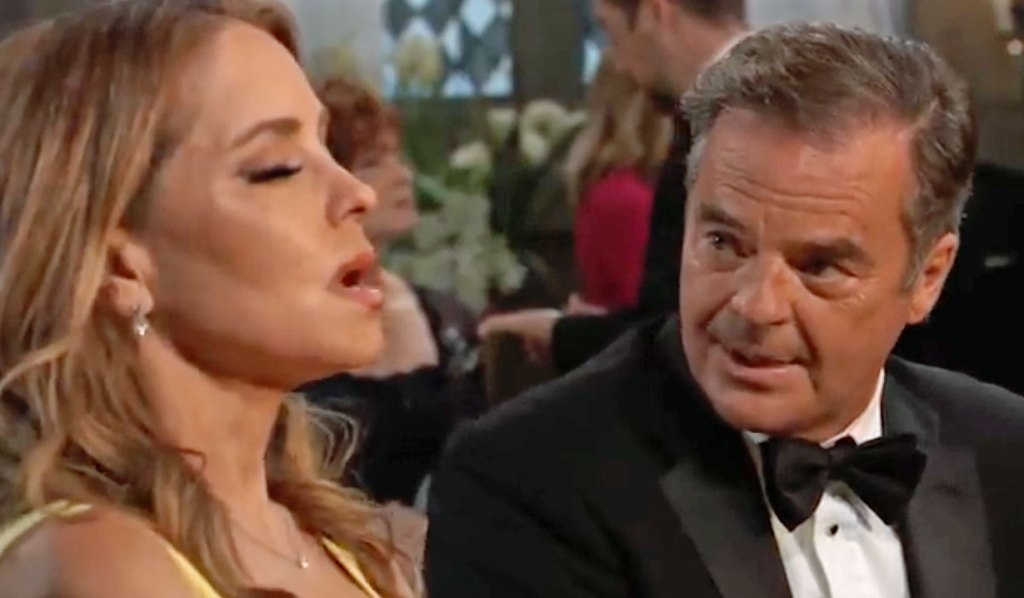 Olivia's upset with Ned GH