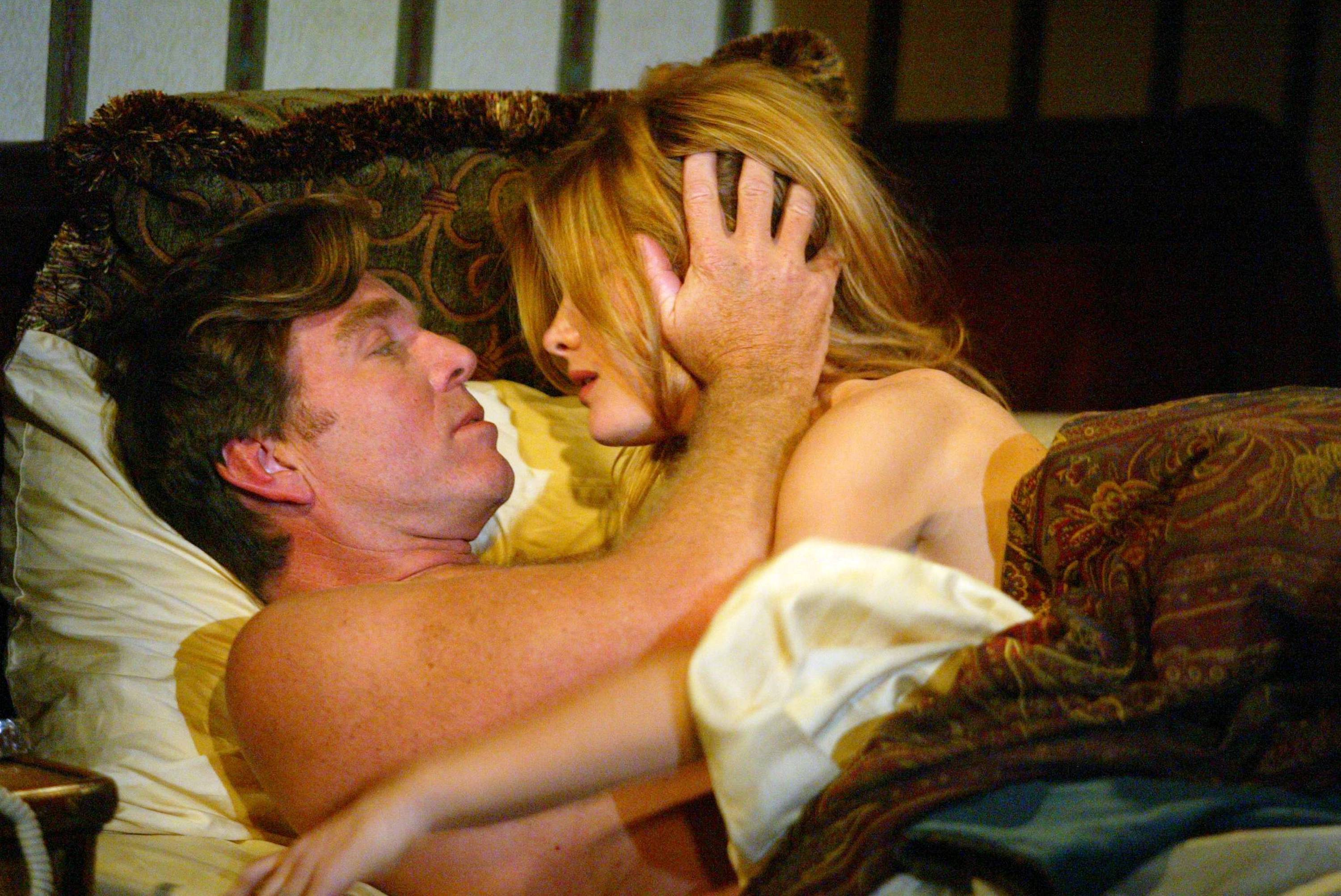 """Peter Bergman and Michelle Stafford """"The Young and the Restless"""" Set CBS Television City 8/26/03 ©Aaron Montgomery/JPI 310-657-9661 Episode# 7729"""