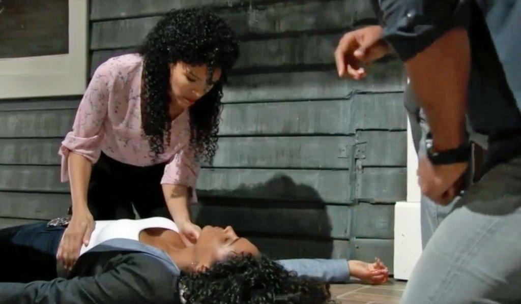 Portia cares for Jordan GH