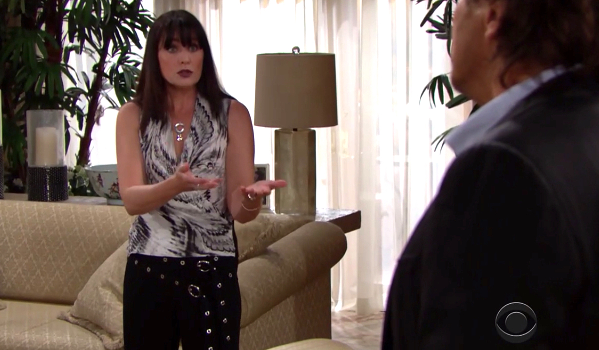Quinn fans Ridge's flames over Bill on Bold and Beautiful