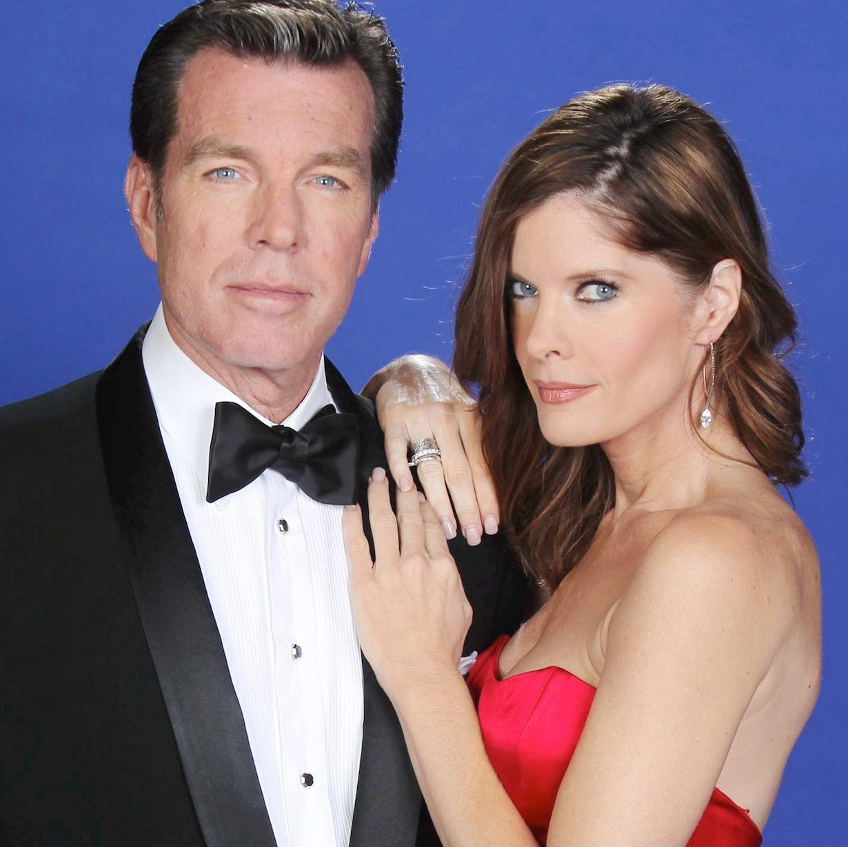 """jack phyllis unsized Peter Bergman, Michelle Stafford""""The Young and the Restless"""" Set 40th Anniversary Cast Photo Gallery ShootCBS television CityLos Angeles12/10/12© John Paschal/jpistudios.com310-657-9661"""