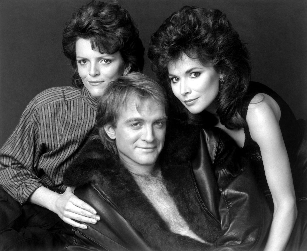 THE YOUNG AND THE RESTLESS, from left: Chris Templeton, Terry Lester, Lauren Koslow, (ca. 1980s), 1973-, ©CBS/courtesy Everett Collection