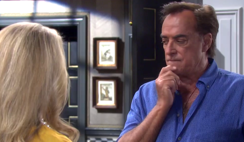 Tony ponders Anna's suggestion on Days of Our Lives