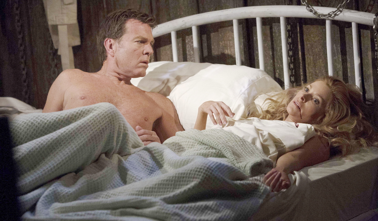 """Peter Bergman, Cady McClain""""The Young and the Restless"""" Set CBS television CityLos Angeles04/17/15© sean smith/jpistudios.com310-657-9661Episode # 10671U.S. Airdate 05/21/15"""