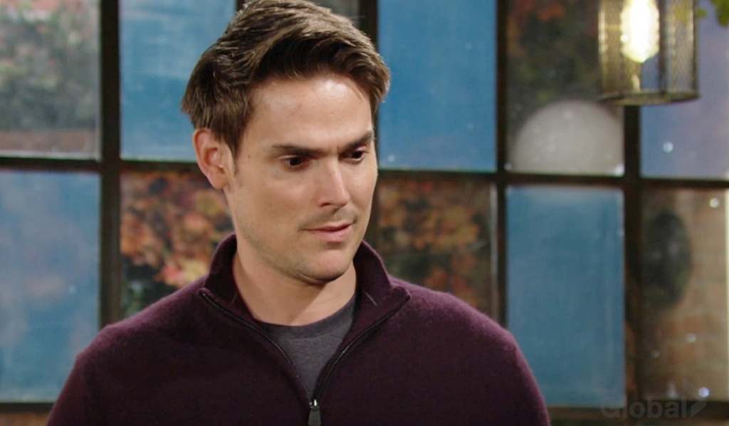 Adam questions Elena, Nate Y&R