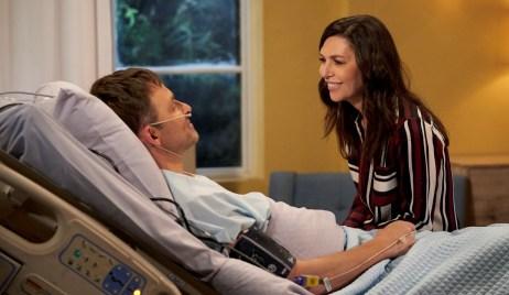 Anna visits Valentin in hospital in Crete General Hospital