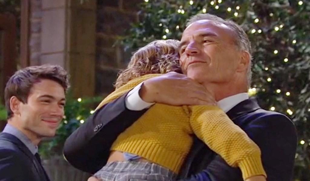 Ashland, Harrison hug Y&R