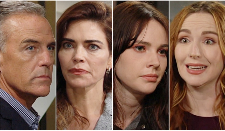 Ashland, Victoria, Mariah, Tessa Y&R