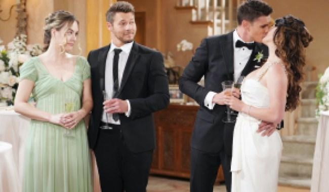 Bold steffy finn wedding liam hope