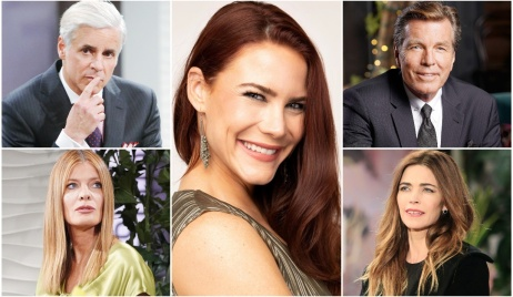 Courtney Hope, Sally, Michael, Phyllis, Victoria, Jack marriage advice Y&R