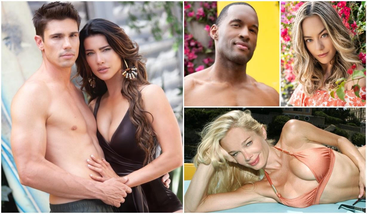 Finn, Steffy, Carter, Hope, Donna B&B