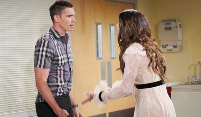 Finn, Steffy argue about Sheila B&B