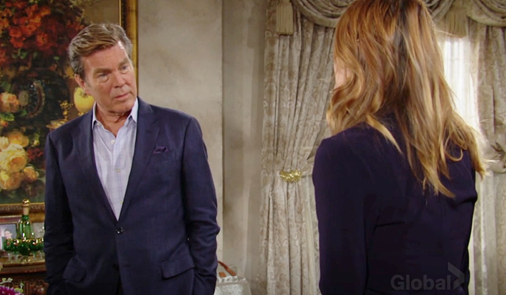 Jack, Phyllis discussion Y&R