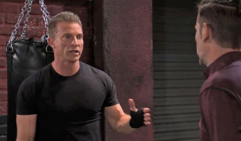 Jason rejects Austin at the gym General Hospital