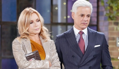 Lauren, Michael displeased Y&R