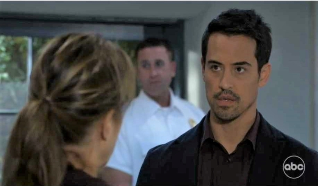 Nikolas and Alexis argue about Spencer at Spring Ridge General Hospital