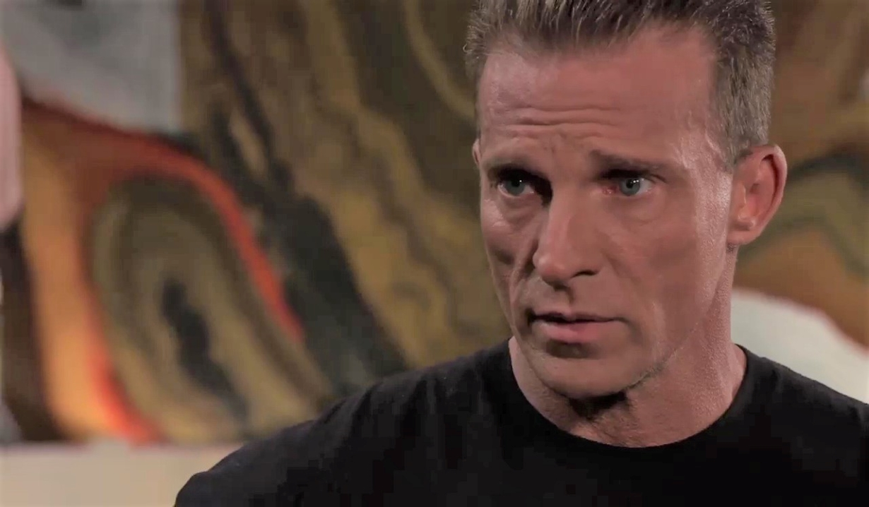 Sonny questions Jason about Carly in office General Hospital