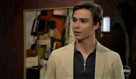 Spencer apologizes to Trina at Wyndemere General Hospital