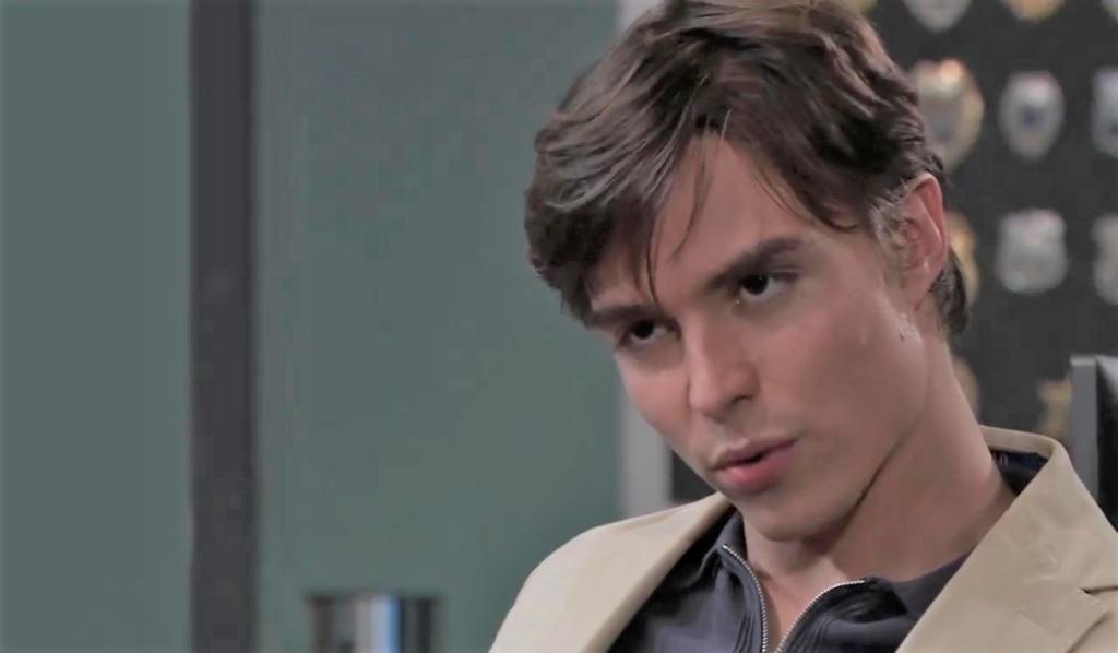 Spencer is interrogated at PCPD General Hospital