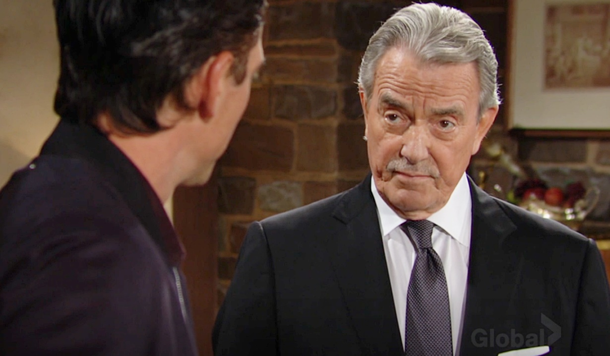 Victor warns Billy Y&R