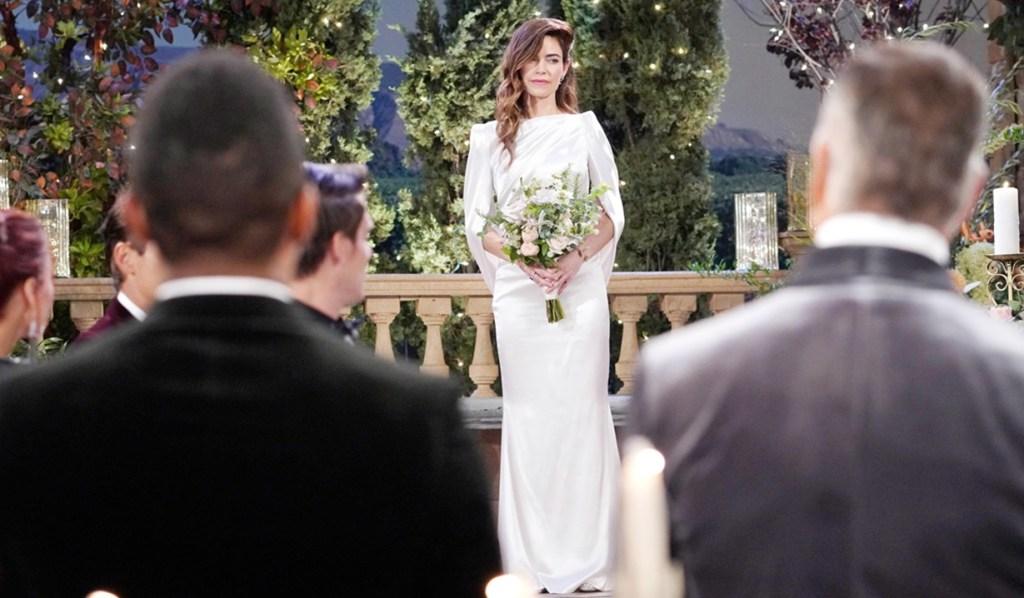 Victoria appear wedding dress Y&R
