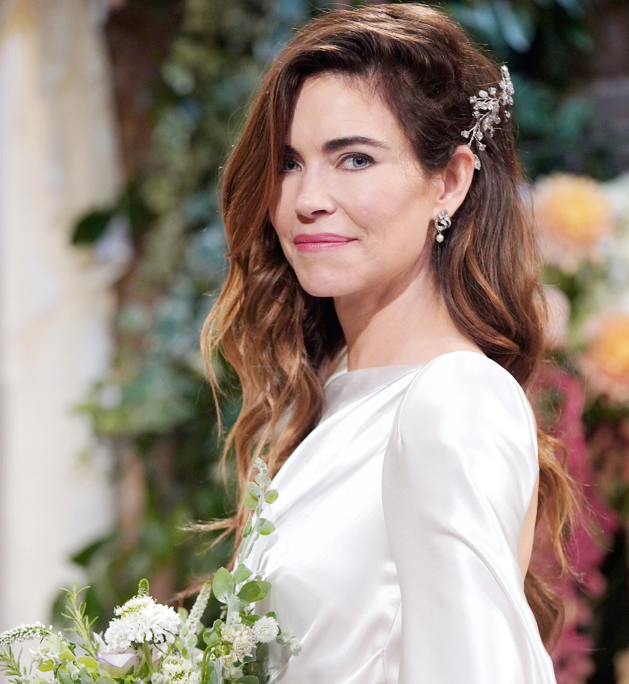 """Amelia Heinle""""The Young and the Restless"""" Set WeddingCBS television CityLos Angeles09/03/21© Howard Wise/jpistudios.com310-657-9661"""